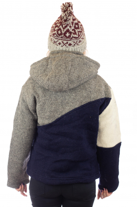 Jacheta de lana - Zig Zag 3