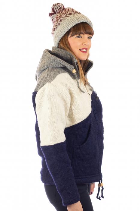 Jacheta de lana - Zig Zag 2