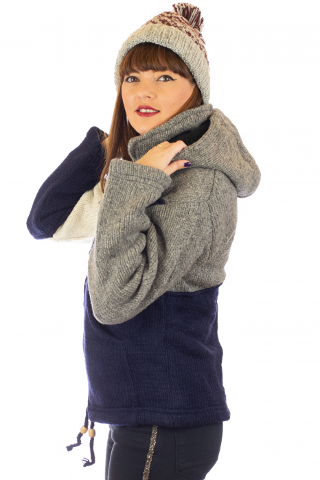 Jacheta de lana - Zig Zag 1