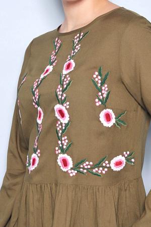 Bluza cu broderie - 07.JD-103543