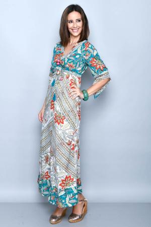 Rochie lunga multicolora - 08.DR-12222