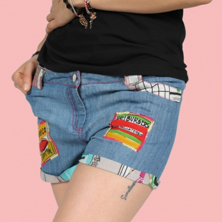 Pantaloni scurti - DENIM0
