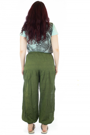 Pantaloni lejeri - Verde petrol2