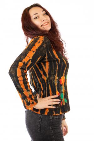 Bluza pentru femei tip Tie Dye N-011
