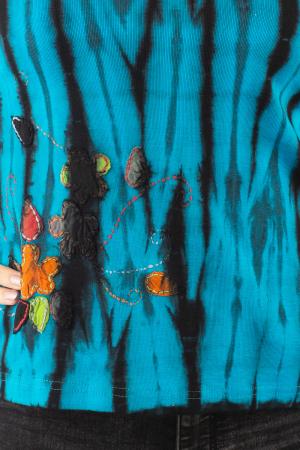 Bluza tip Tie Dye pentru femei N-013
