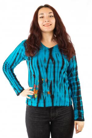Bluza tip Tie Dye pentru femei N-010