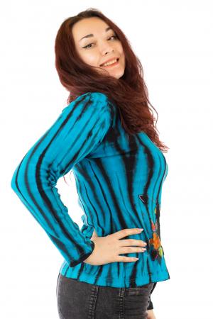 Bluza tip Tie Dye pentru femei N-011