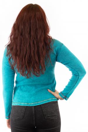 Bluza femei OM cu modele cusute N-012