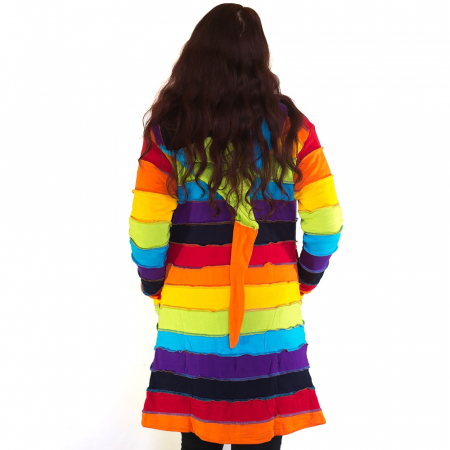 Jacheta casual femei – model curcubeu JRAIN2