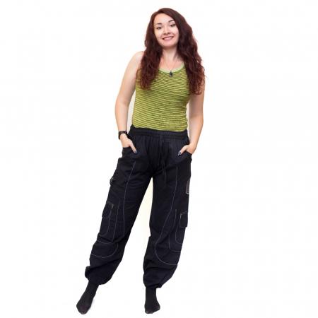 Pantaloni Black Cargo - HI17230
