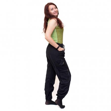 Pantaloni Black Cargo - HI17231