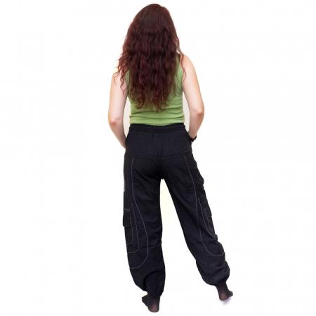 Pantaloni Black Cargo - HI17232