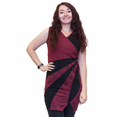 Rochie Black and Red0
