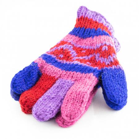 Manusi de lana - Color combo 170
