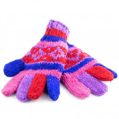 Manusi de lana - Color combo 171