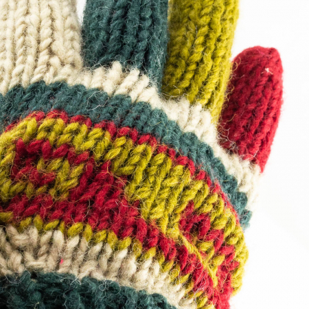 Manusi de lana - Color combo 111