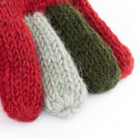 Manusi de lana - Color combo 131
