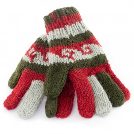 Manusi de lana - Color combo 130