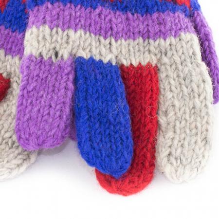 Manusi de lana - Color combo 141