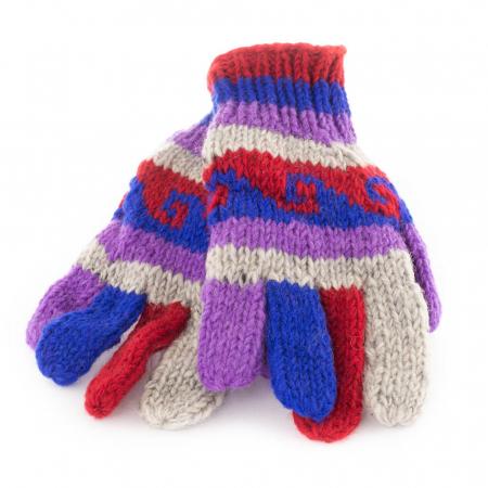 Manusi de lana - Color combo 140