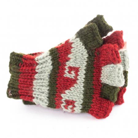 Manusi de lana - Color combo 138