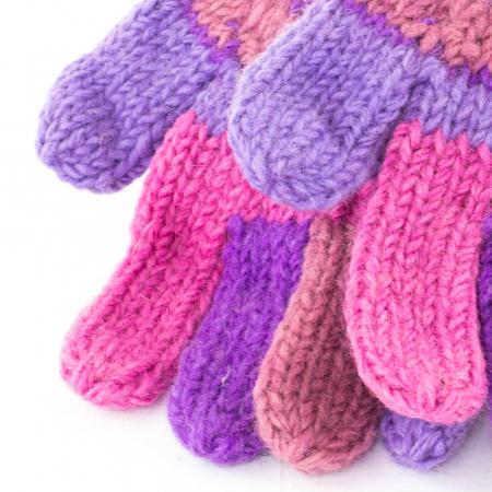 Manusi de lana - Purples1