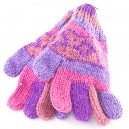 Manusi de lana - Purples0