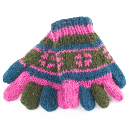 Manusi de lana - Color combo 200