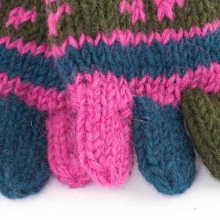 Manusi de lana - Color combo 201