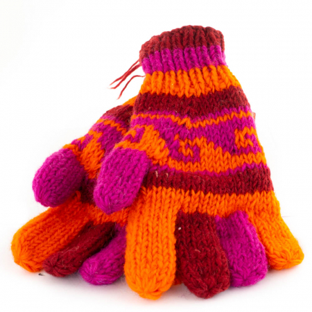 Manusi de lana - Color combo 20