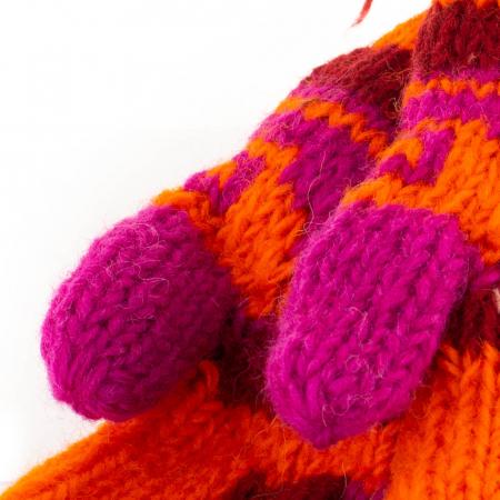 Manusi de lana - Color combo 21