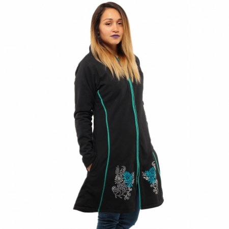 Jacheta de bumbac cu fermoar – SIMETRIE2