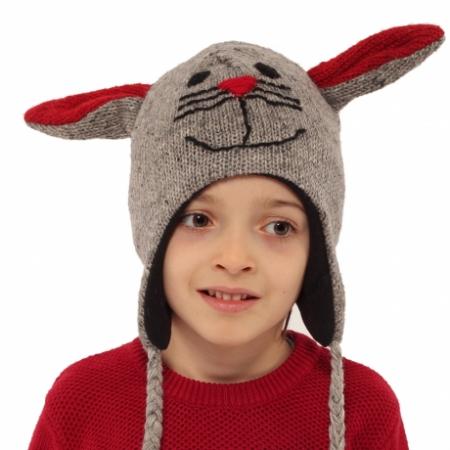 Căciulă din lână copii - ȘORICEL1