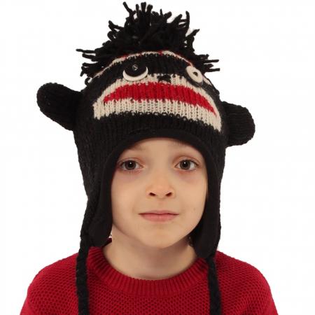 Căciula din lână copii - MONKEY1