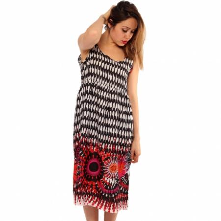 Rochie de vara multicolora boho0