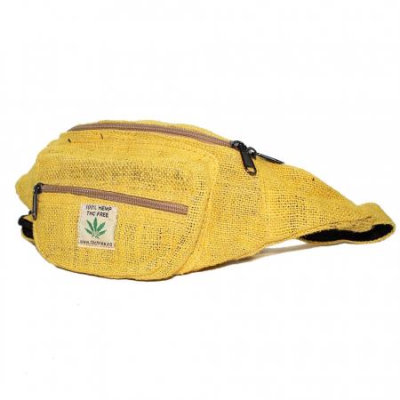 Borseta din canepa -Yellow0