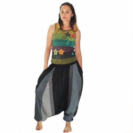 Salvari hippie – gri si negru0