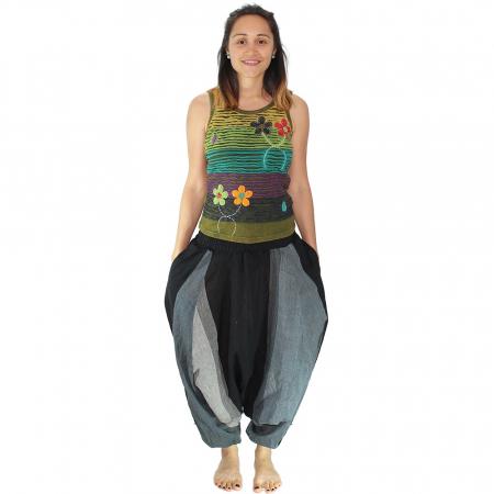 Salvari hippie – gri si negru1