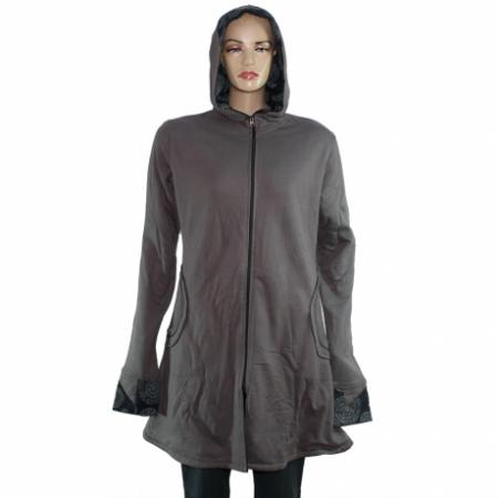 Jacheta de bumbac cu fermoar – GRI0
