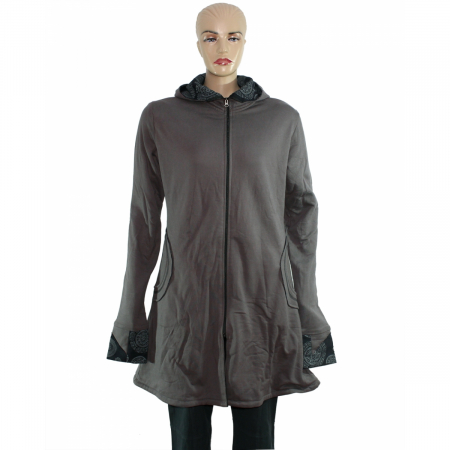 Jacheta de bumbac cu fermoar – GRI1