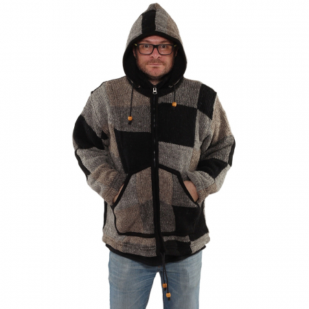 Jacheta din lana - PETICE 20