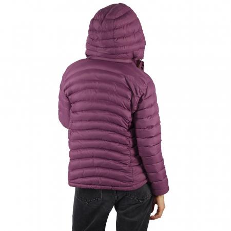 Jacheta XL cu puf – Violet2