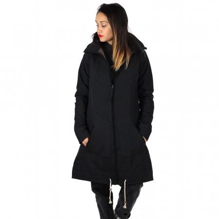 Jacheta din bumbac - NEGRU2
