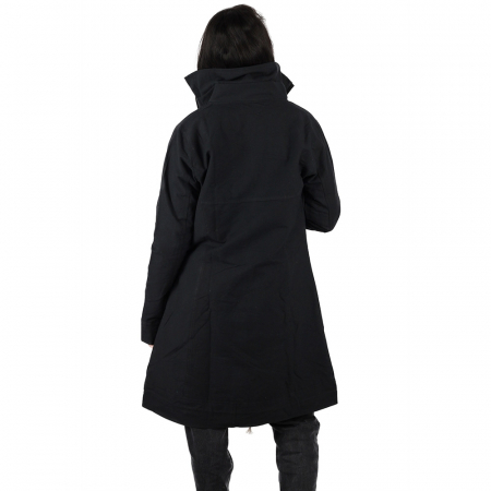 Jacheta din bumbac - NEGRU4