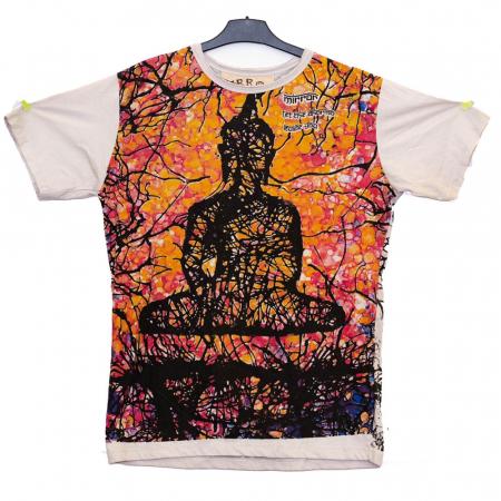 Tricou Budha Crem - Marime L0