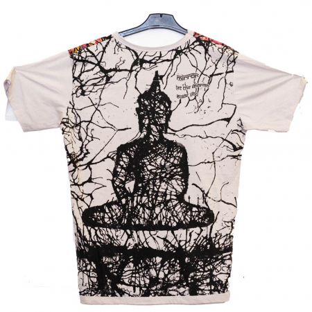 Tricou Budha Crem - Marime L1