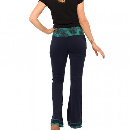 Pantaloni bleumarin - Mandala2