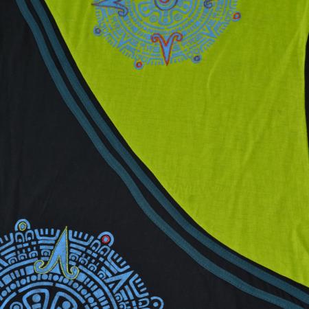 Rochie din bumbac cu imprimeu mandala [3]