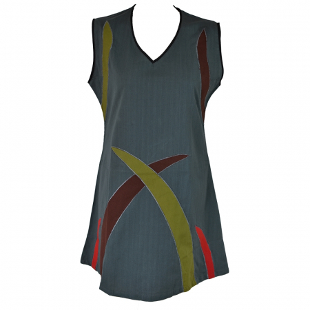 Rochie din bumbac natural - ABSTRACT1