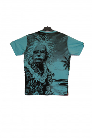Tricou Einstein Blue - Marime M1